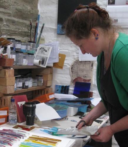 Moira at work