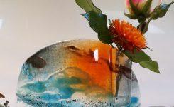 Smouldering Skies vase