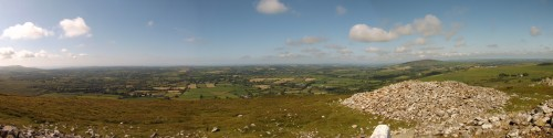 view from Foel Drygarn
