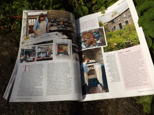 featured artisan in Period Living magazine